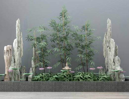 现代, 园林, 小品