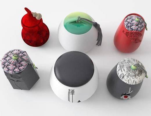 中式茶叶罐, 葫芦