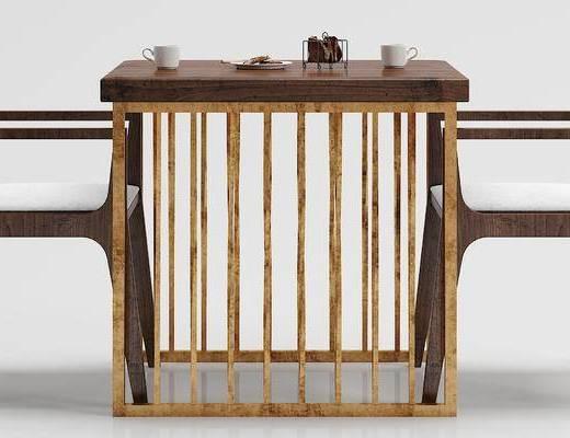 工业风, 休闲桌, 组合