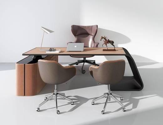 办公桌, 组合, 现代