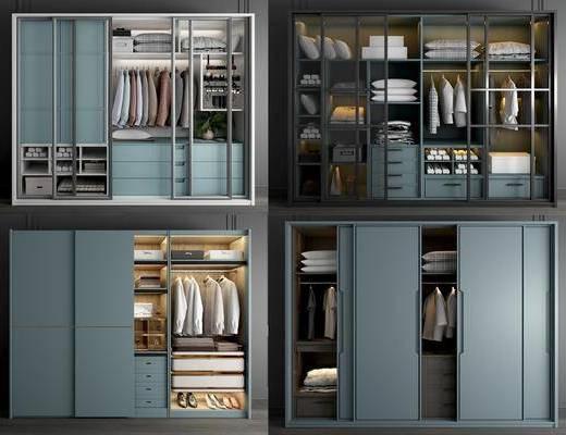 衣柜, 移门衣柜, 实木衣柜, 推拉门衣柜, 轻奢衣柜, 玻璃衣柜