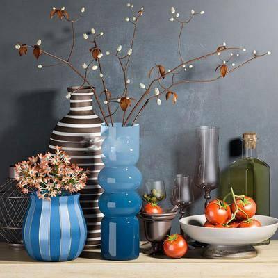 陶瓷, 摆件组合, 陶艺器皿
