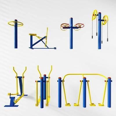 体育器材, 健身器材, 户外健身, 体育设施, 现代