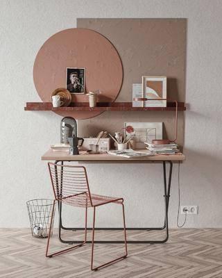 北欧书桌, 书桌椅, 桌椅组合