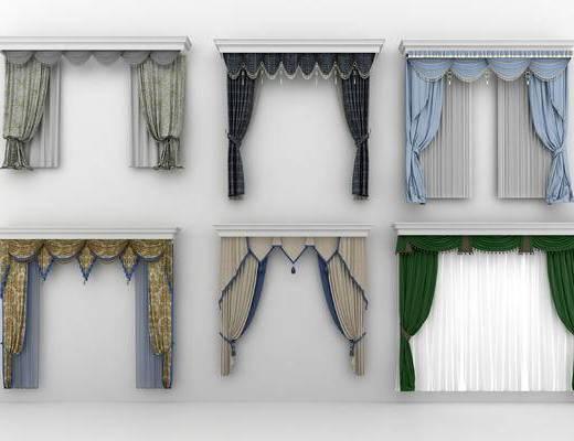 窗帘, 欧式窗帘, 欧式窗帘窗纱, 个性窗帘, 布艺窗帘, 客厅窗帘