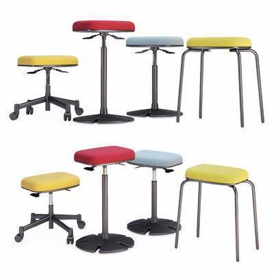 现代, 圆凳, 单体