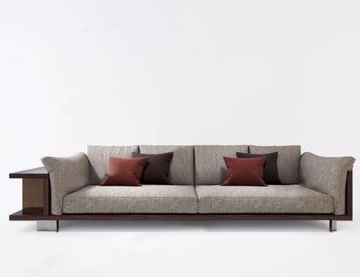 双人沙发, 多人沙发