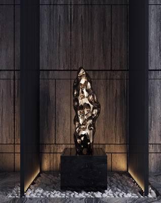 金属装饰, 摆件, 鹅卵石, 装饰品