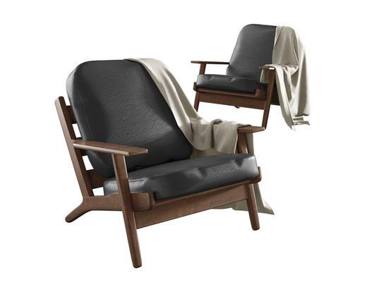 现代简约, 单人椅子, 现代椅子, corona