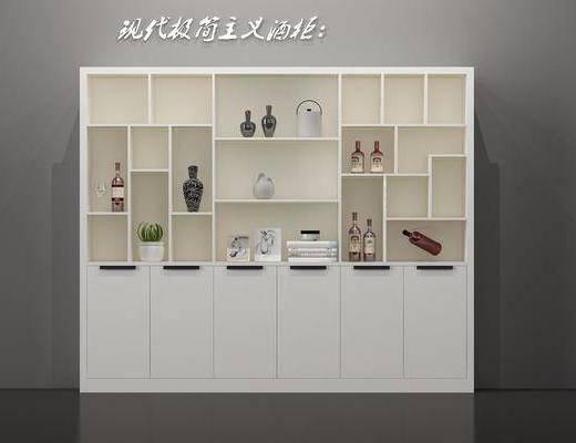 酒柜, 装饰柜, 现代