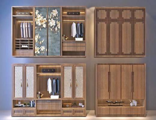 衣柜, 置物柜, 衣架