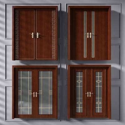 门, 门构件, 双开门, 厨房门, 推拉门, 玻璃门