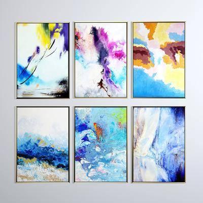 掛畫, 裝飾畫, 油畫