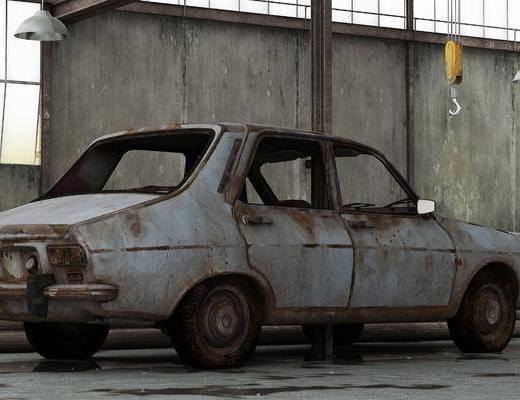 交通工具, 废弃车, 汽车