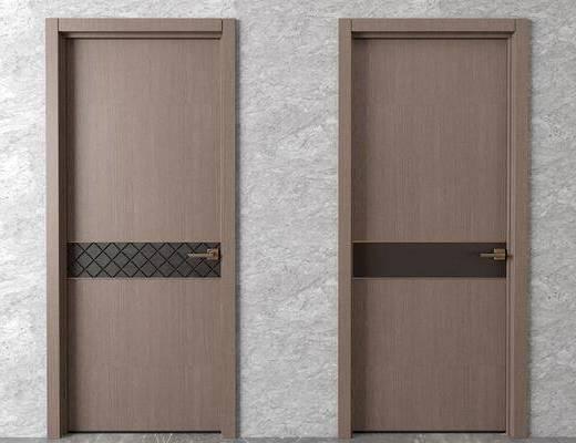 平开门, 现代平开门