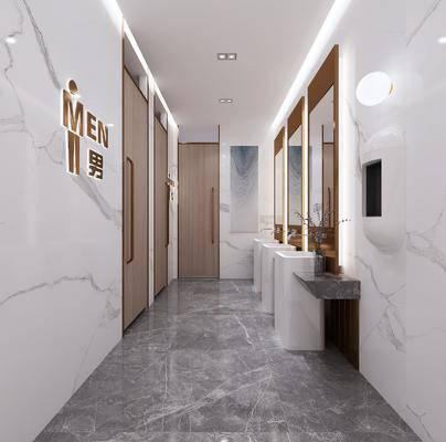 洗手间, 卫浴组合, 洗浴组合