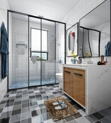 現代誒生煎, 衛生間, 衛浴