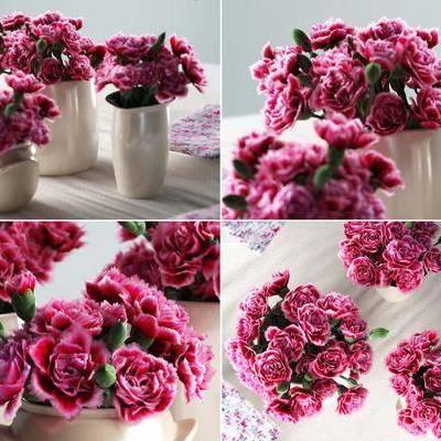 花瓶, 花卉, 花, 陶瓷, 现代