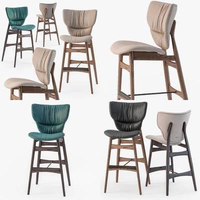 高脚凳, 吧椅, 吧凳, 现代, 北欧