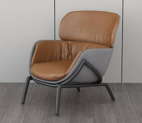 沙发椅, 单人椅, 单人沙发, 扶手单人椅, 现代