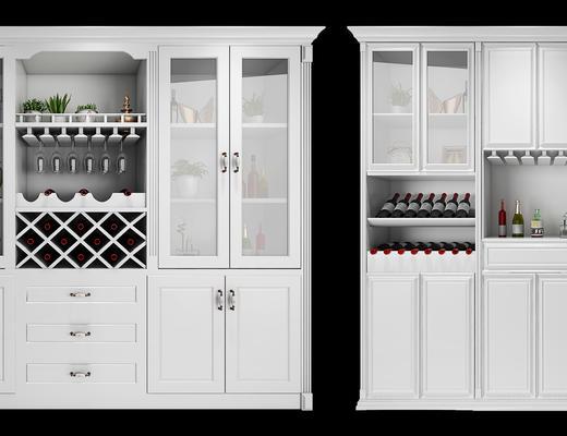 酒柜, 柜, 置物柜, 木柜