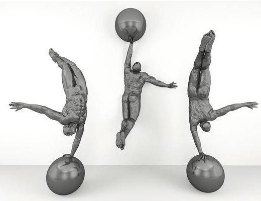 人物, 运动雕塑, 雕塑雕刻, 现代