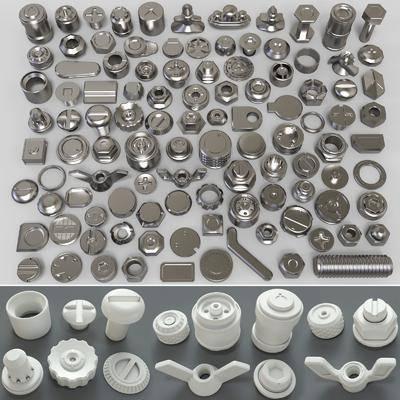 螺丝螺母, 螺栓齿轮, 旋钮把手, 把手组合, 现代