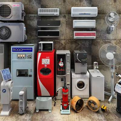 空调, 电器, 风扇, 洗衣机