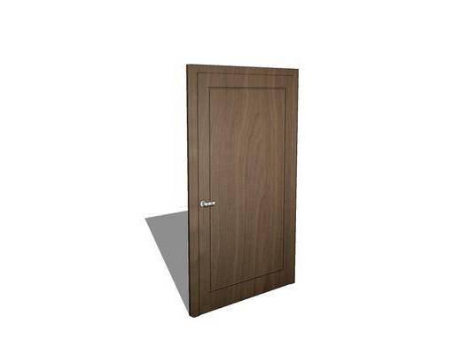 门, 单开门, 房门