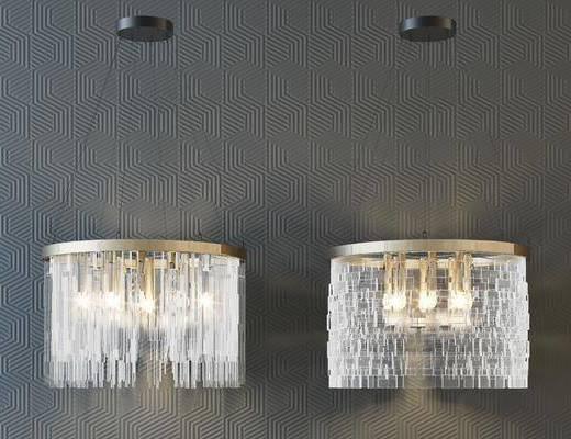 吊灯, 灯具组合, 灯饰, 水晶灯组合