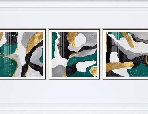 抽象, 艺术画, 组合画