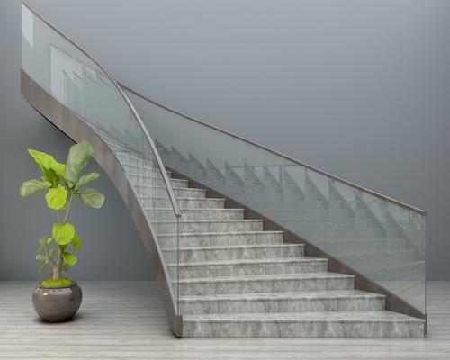 旋轉樓梯, 樓梯, 現代樓梯, 現代