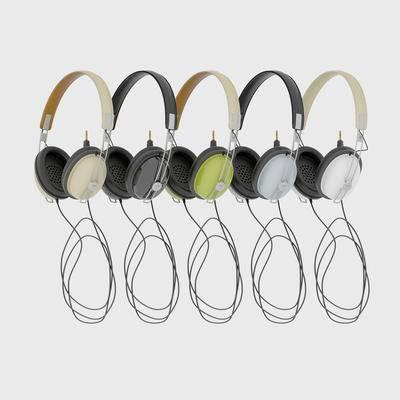 头戴式, 耳机, 单体