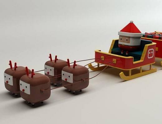 积木, 玩具, 现代