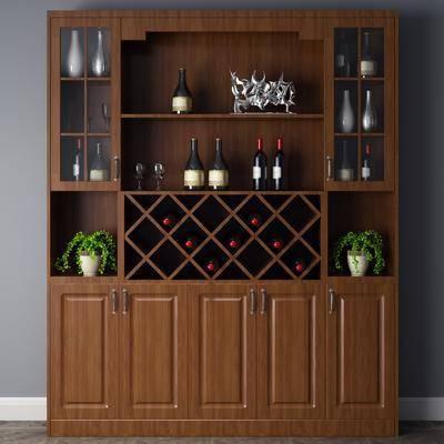美式酒柜, 酒柜, 置物柜