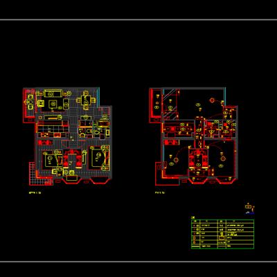 CAD, 施工图, 家装施工图, 平面图, 立面图, 下得乐3888套模型合辑