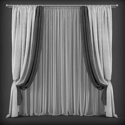 窗帘, 现代窗帘, 纯色窗帘, 简约窗帘, 现代简约, 现代