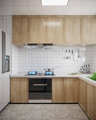 北欧, 厨房, 家装