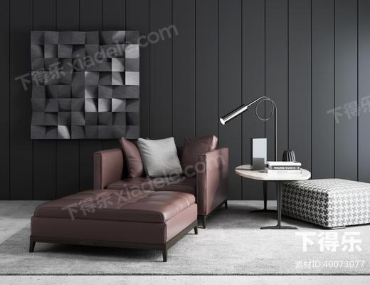 现代简约, 简约沙发椅, 沙发椅组合, 沙发, 椅子