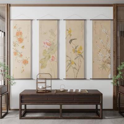 新中式挂画