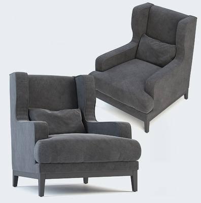 现代, 休闲沙发, 单人沙发, 现代沙发, 现代休闲单人沙发, 沙发