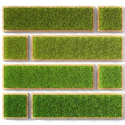 草坪, 墙饰, 植物墙, 绿植墙