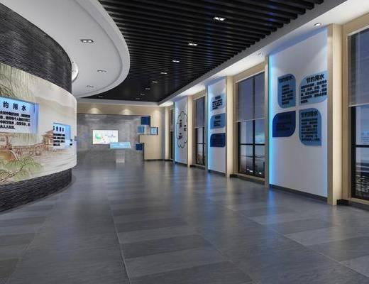 展览展厅, 现代展厅