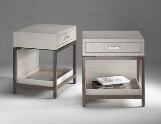 现代, 床头柜, 柜子