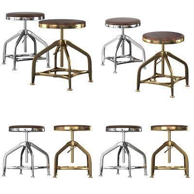 吧椅, 凳, 工业风吧椅