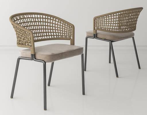 餐椅, 扶手椅, 户外椅, 藤椅, 编织椅, 单椅