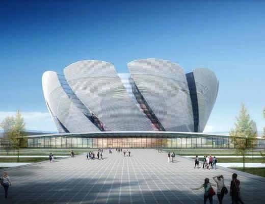 展览馆, 科技馆, 博物馆, 建筑外观, 楼盘