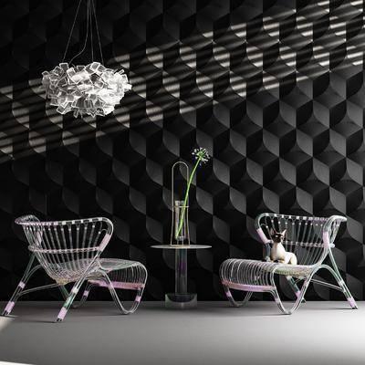 现代异形椅子, 现代单椅, 现代休闲椅