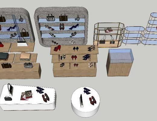 装饰柜架, 展示架, 精品柜