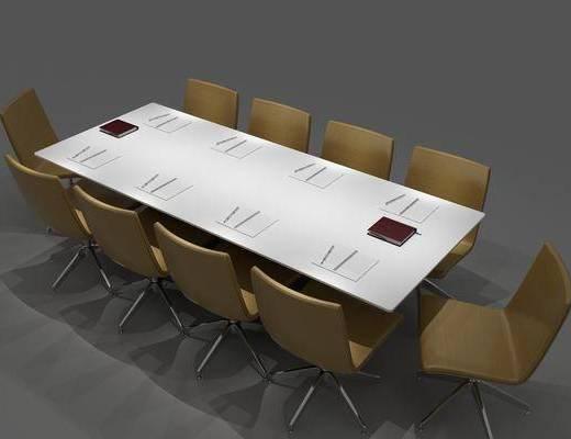 会议桌组合, 现代